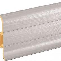 LISTA PVC PREMIUM STRIEBRO 201